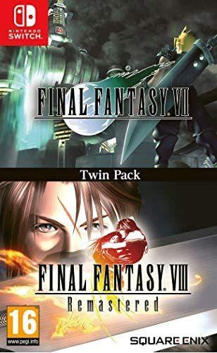 Final Fantasy VII + Final Fantasy VIII: Twin Pack (Switch) [Amazon.es]
