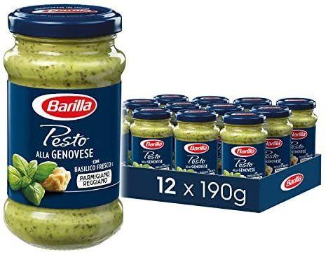12x190g Barilla Pesto verschiedene Sorten und verschiedene Packs(1,44€ pro möglich) - Prime*Sparabo*