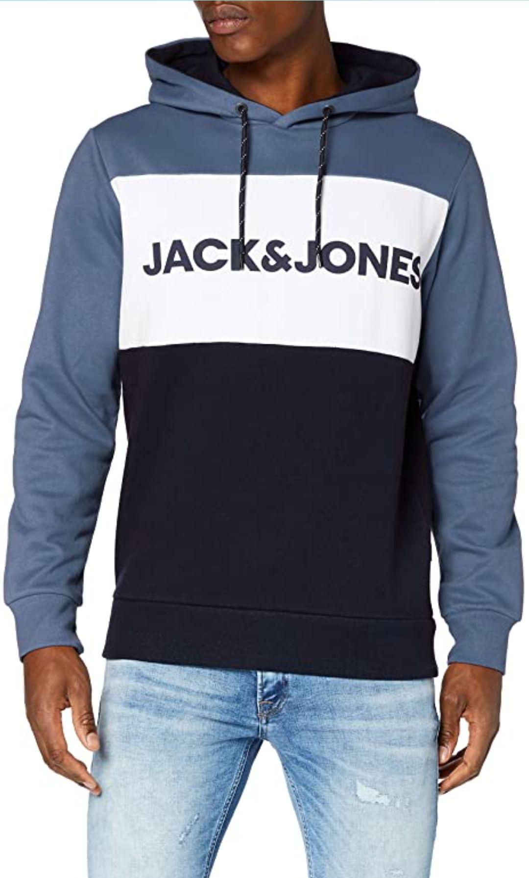 JACK & JONES Male Hoodie Colourblocking Logo bei Amazon Prime