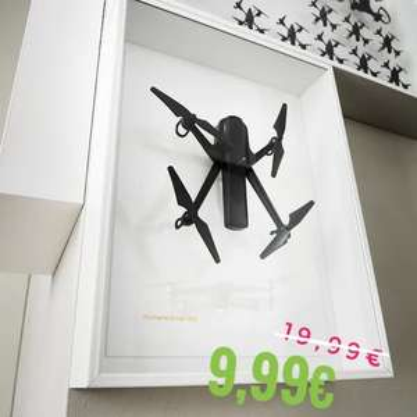 Lokal Brinkum   IKEA Art Event 2021 Wanddekoration (Drohne)