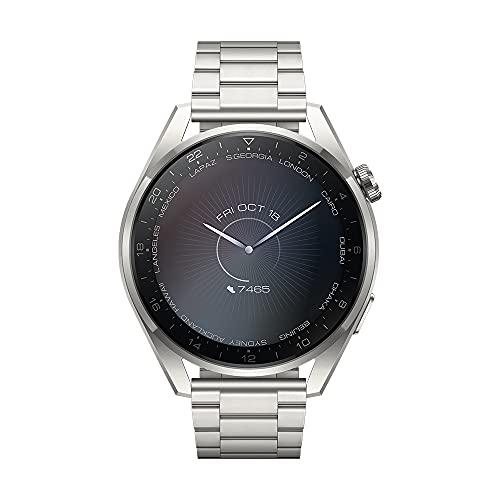 [Amazon] Huawei Watch 3 Pro Elite – Titan-Silber