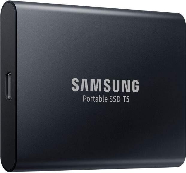 Samsung Portable SSD T5 1TB 2.5 Zoll extern schwarz für 99€ [Amazon / Euronics]