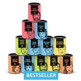 12x Just Spices Gewürze (Bestseller) = 3,40 € je Gewürz