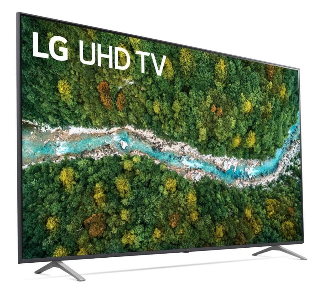 """LG 55UP77009LB UHD Smart-TV (55""""/140cm, 4K / UHD, HDR, DVB-C, S2, T2 (HD), PVR / Time-Shift, 3x HDMI, 2x USB )"""