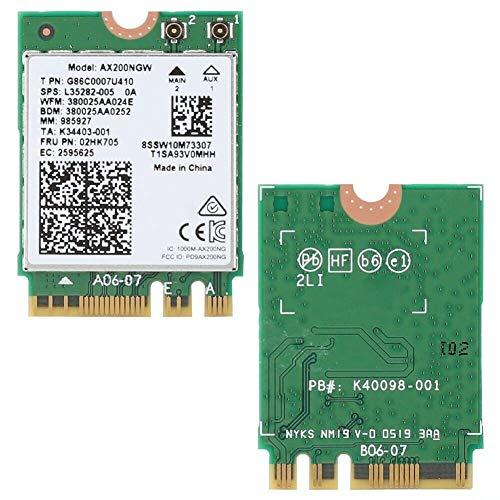 Intel Dual Band Wireless-AX200NGW Intel WLAN/Wi-Fi 6 AX200 2230 2x2 AX+ Bluetooth 5.0,M.2/A-E-Key
