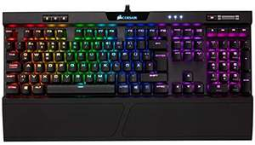 Corsair K70 RGB MK.2 Gaming Tastatur mechanisch Cherry MX Brown (DE) bei Amazon