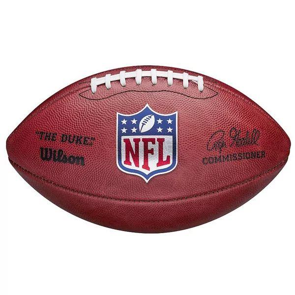 Wilson NFL Duke Game Leather Football | Das Original in offizieller Größe [sportdeal24.de]