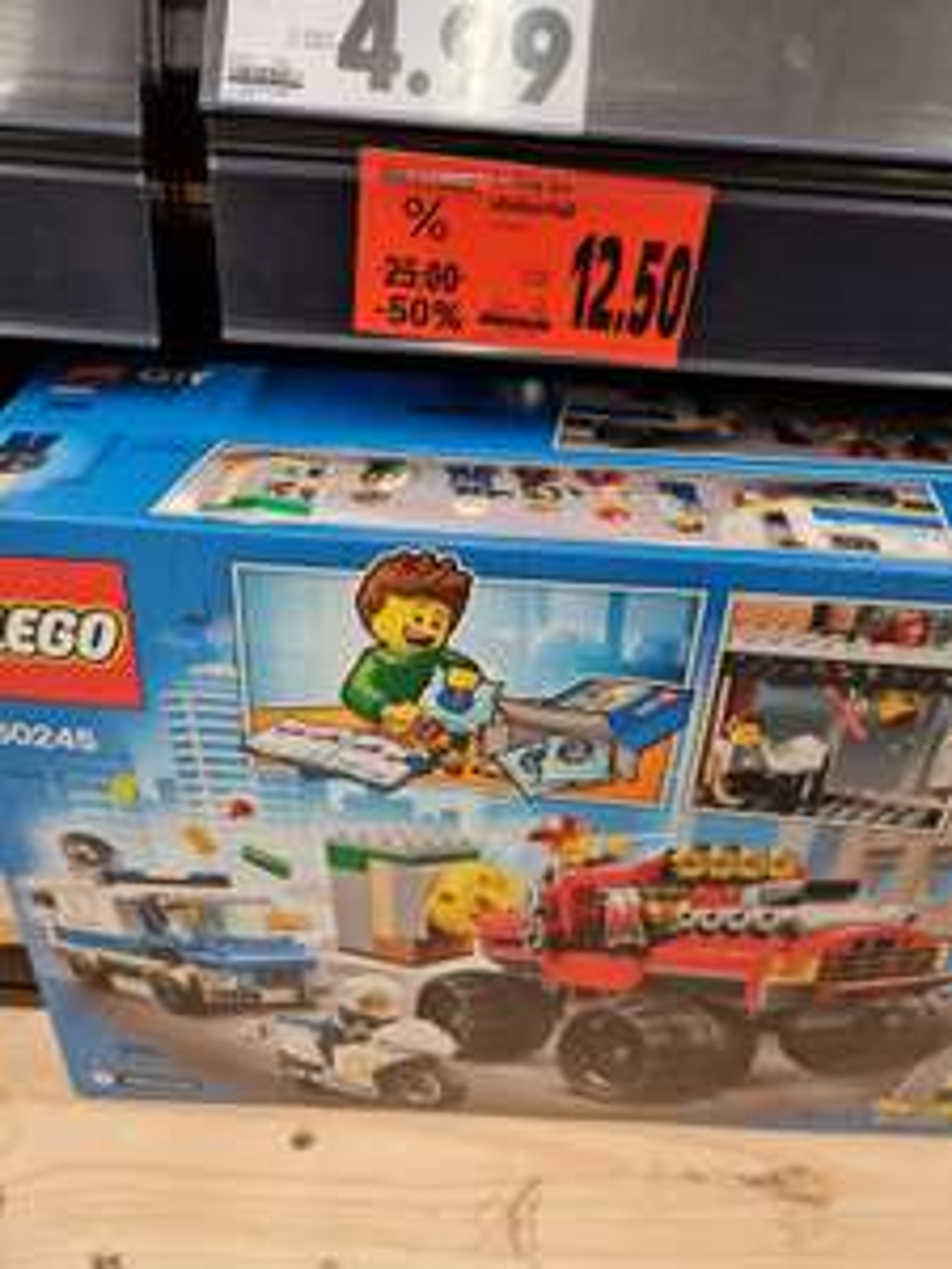 Lego 60245 City Raubüberfall für 12,50 bei Kaufland