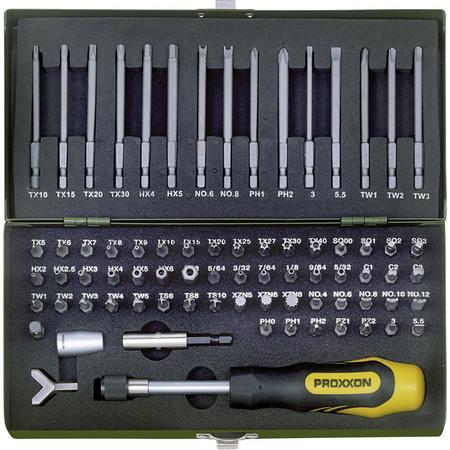 Proxxon Sicherheits- & Spezial-Bitsatz 75-teilig (23107)