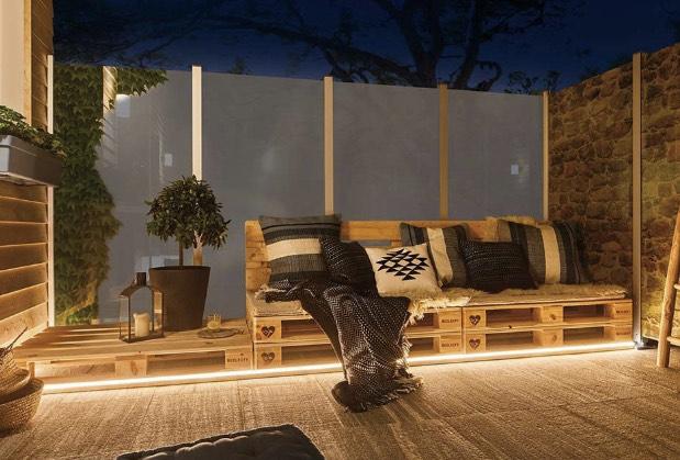 [Hornbach TPG] Paulmann Plug & Shine Outdoor LED Streifen Neon flexible IP67 5 m 31W 2500 lm 3000 K warmweiß 230/24V
