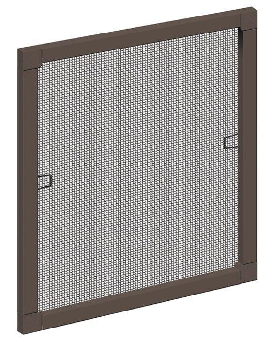 Schellenberg Insektenschutzfenster Standard   in braun oder weiß   verschiedene Größen   bis zu 45 % Rabatt ggü. UVP