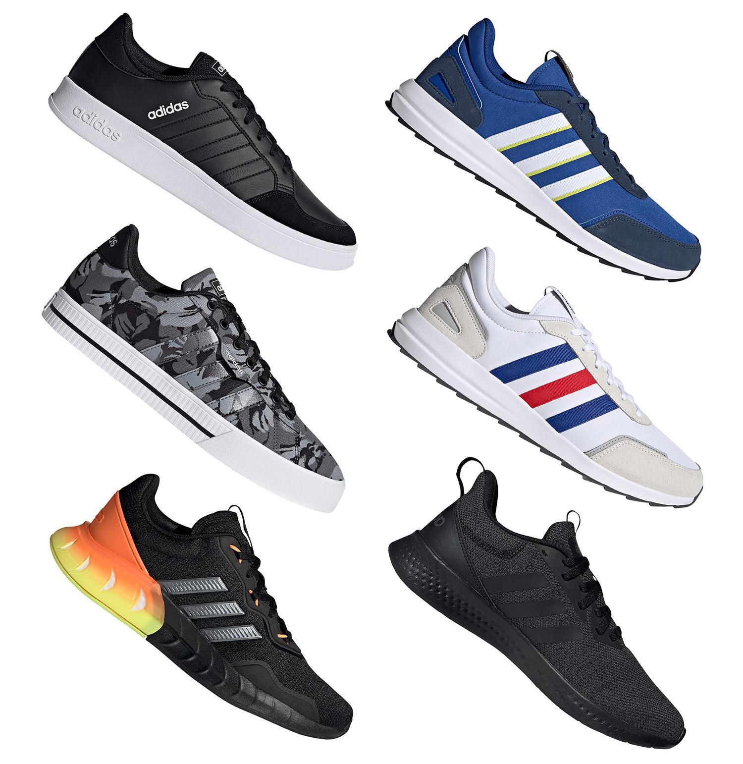 adidas Sneaker Sale, zB: adidas Breaknet schwarz (Größen 41 bis 47)
