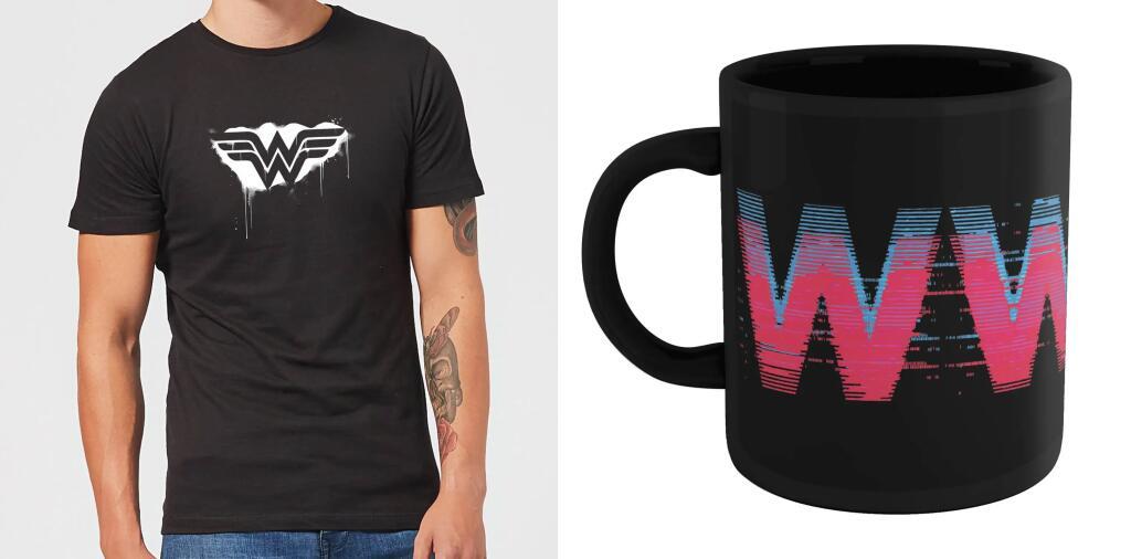 Bundle aus Wonder Woman T-Shirt (Gr. S - XXL) und Tasse für 9,99€