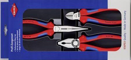 Knipex 00 20 11 Werkstatt Zangen-Set 3 teilig (Diverse Zahlungsmöglichkeiten)