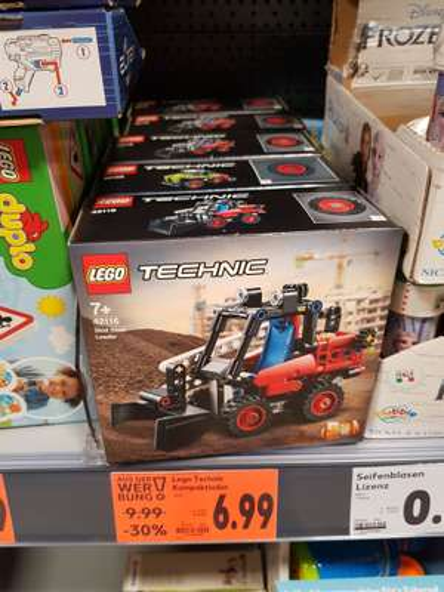 [Lokal Kaufland Wuppertal] Lego Technic Kompaktlader 42116
