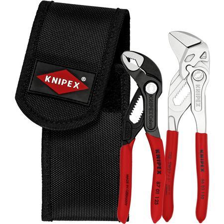 Knipex 00 20 72 V1 Mini Set, Cobra 125+ Zangenschlüssel 150