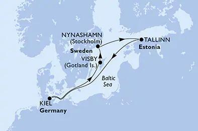 [ MSC SEAVIEW ] Nordeuropa ab Kiel (399€ p.P.) - Last Minute Sale