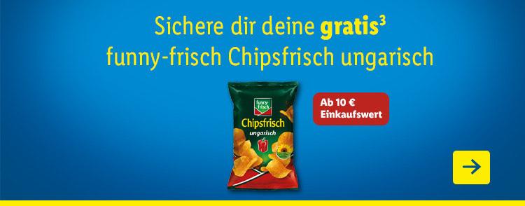 (Lidl Plus) funny frisch Chipsfrisch ungarisch gratis ab 10€
