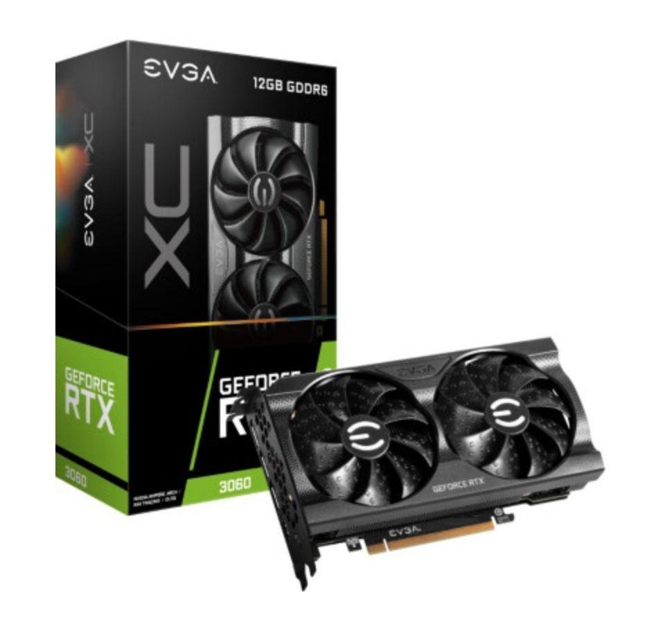 EVGA GeForce RTX3060 XC Gaming 12 GB GDDR6 Grafikkarte
