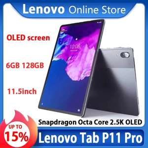 """Lenovo Tab P11 Xiaoxin Pad Pro, 11,5"""" 2560x1600 OLED, SD-730 8C, 6+128GG, 8500mAh, Android 10"""