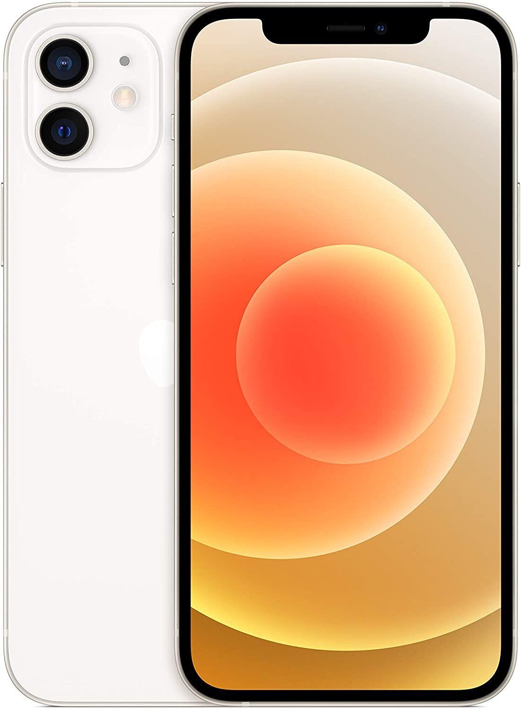 """iPhone 12 256GB - 6,1"""" FHD+ OLED (A14 Chip, 573K AnTuTu, 2.815 mAh, 12 MP Dual-Cam, 4GB RAM, Dual-SIM) Weiß"""