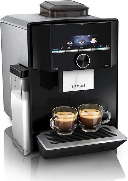[Für uns Shop online] Siemens EQ.9 s300 schwarz - TI923509DE