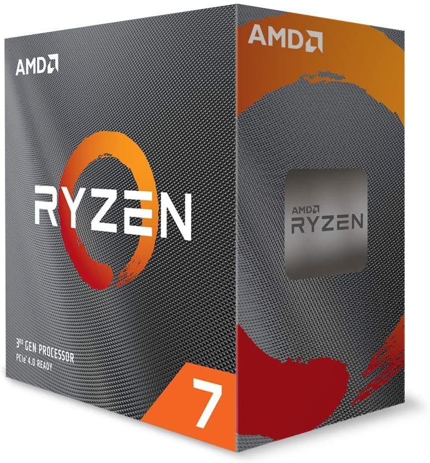 AMD Ryzen 7 3800XT Prozessor (8 Kerne, 16 Threads, 32MB Cache, bis zu 4,5 GHz Max Boost) Boxed ohne Kühler
