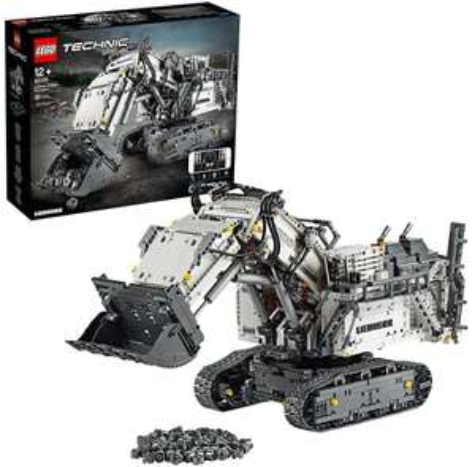Lego Technic 42100 - Liebherr Bagger R 9800 - Bauset (4.108 Teile)