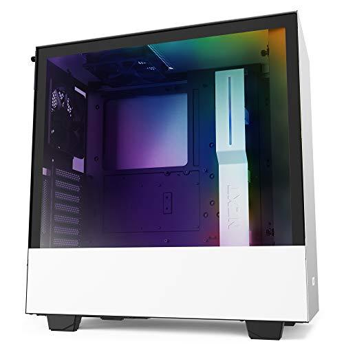 NZXT PC-Gehäuse H510i Window White (ATX-Midi-Tower, Glas-Seitenfenster) [Amazon]