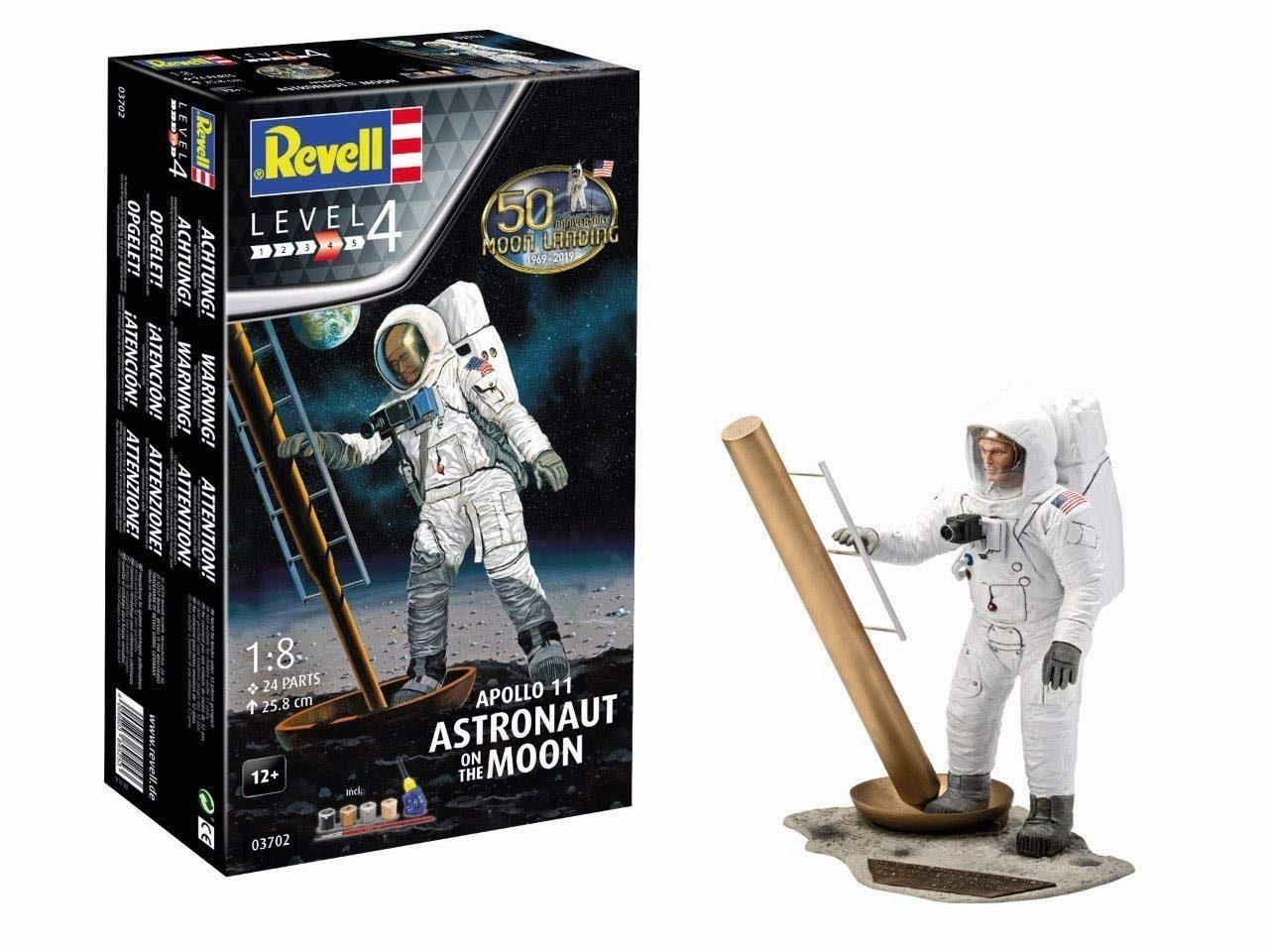 REVELL, Apollo 11, Astronaut on the Moon, Modellbausatz (Abholung nur 15,25€)