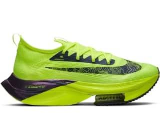 [Keller Premium] Herren Wettkampf Laufschuhe : Nike Alphafly Next% Grün Größe 40.5 - 47 (Neutral, Carbon-Platte, 4mm Sprengung, 210g)