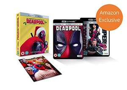 (Prime Vorbestellung) Deadpool 1+2 Boxset * 4k Ultra HD + Blu-ray * Amazon Exclusive Christmas Edition [UK Import]