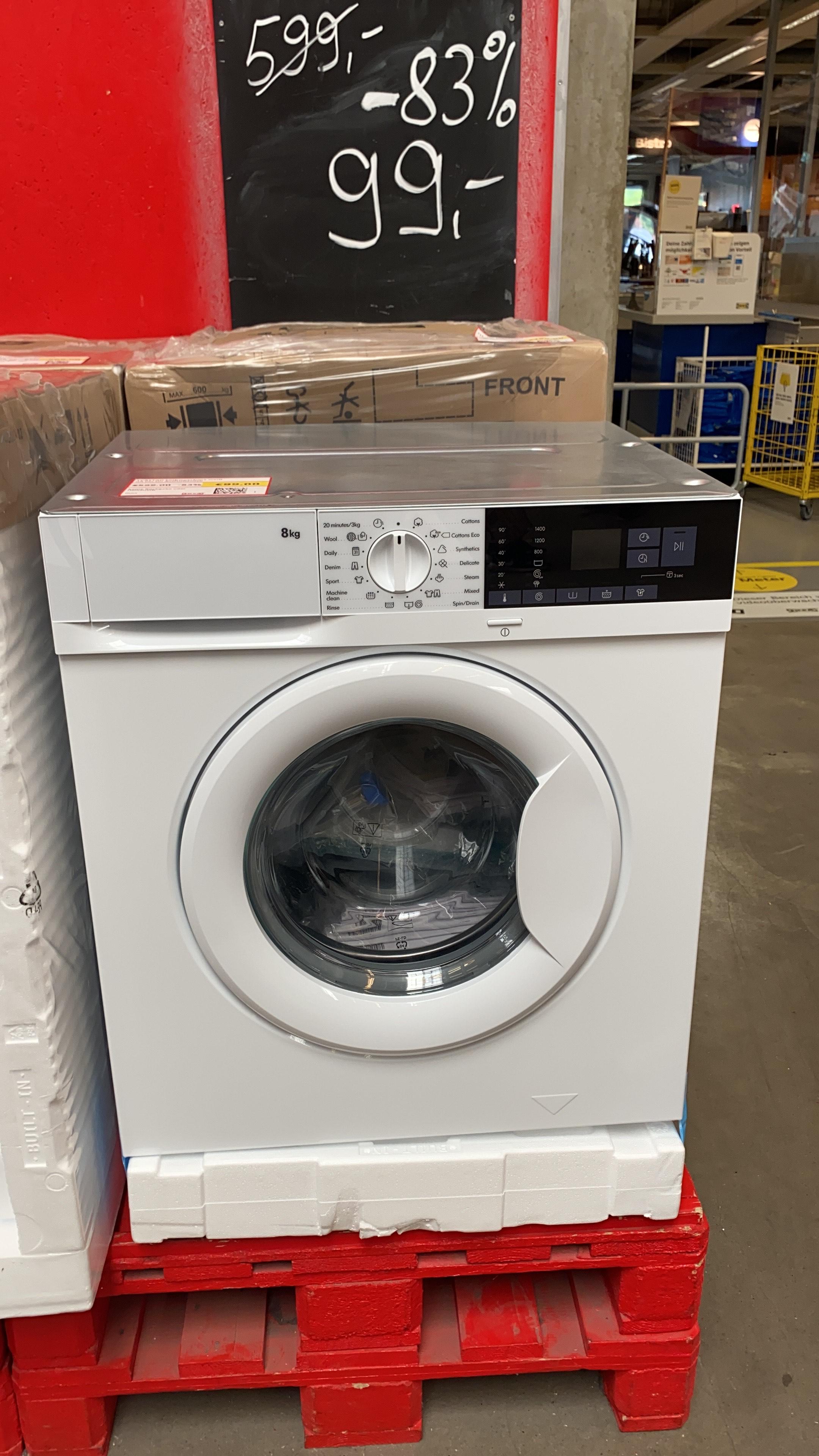 IKEA Waschmaschine Tvättad LOKAL Kiel