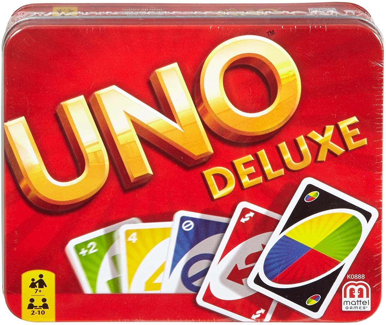 UNO Deluxe Kartenspiel in Metalldose [Thalia KultClub]