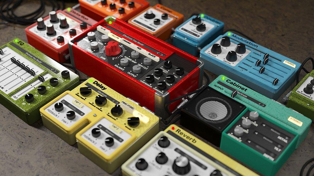 VST (auch AU AAX) Plugin Electrum für guitarfreaks (Amp- und Cab von United Plugins)