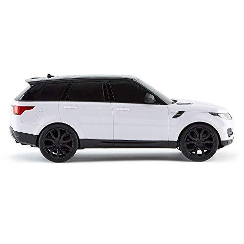 CMJ RC Cars Range Rover Sport (ferngesteuertes Auto 1:24 mit funktionierenden LED-Lichtern) [Amazon]