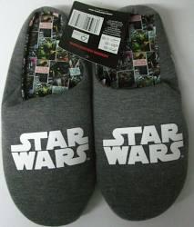 Musterbrand Star Wars Pantoffeln / Hausschuhe (Gr. 42-45) für 9€ / Marvel Crew Neck Damen Captain Marvel blau (Gr. XS-XL) für 21,75€