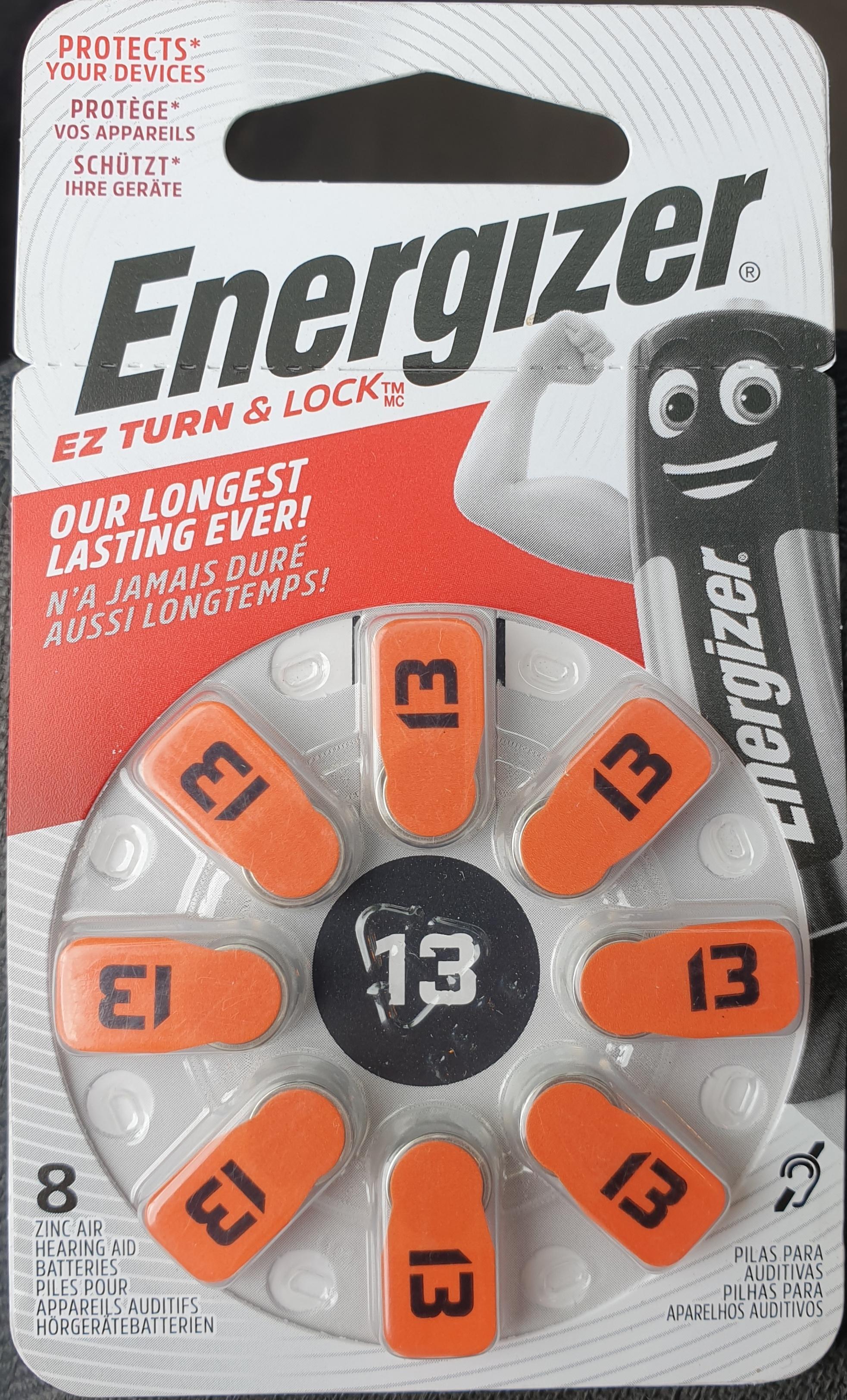 [ Thomas Philipps ] *Lokal* Energizer 13 im 8er Blister 1€ / andere Größen * Raus damit *