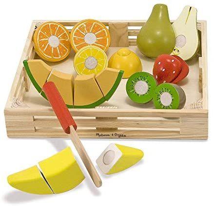 [Prime] Analoges Fruit Ninja für die Kleinen - Melissa & Doug Schneiden von Obst - Holzspielzeug