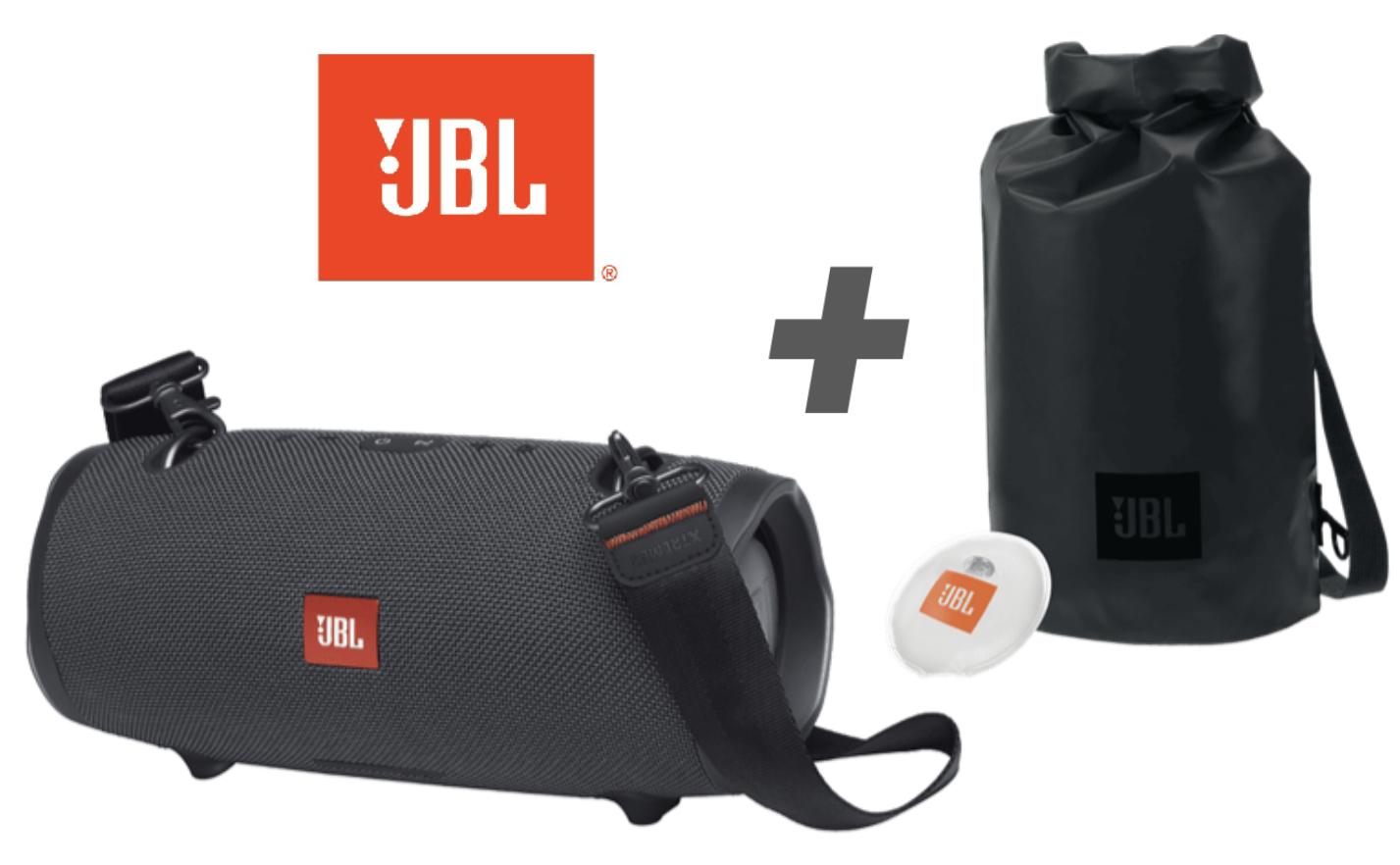 JBL Xtreme 2 Bluetooth Lautsprecher Gun Metal Wasserfest + JBL Winter Party Pack Lautsprechertasche für zusammen 189€ inkl. Versandkosten