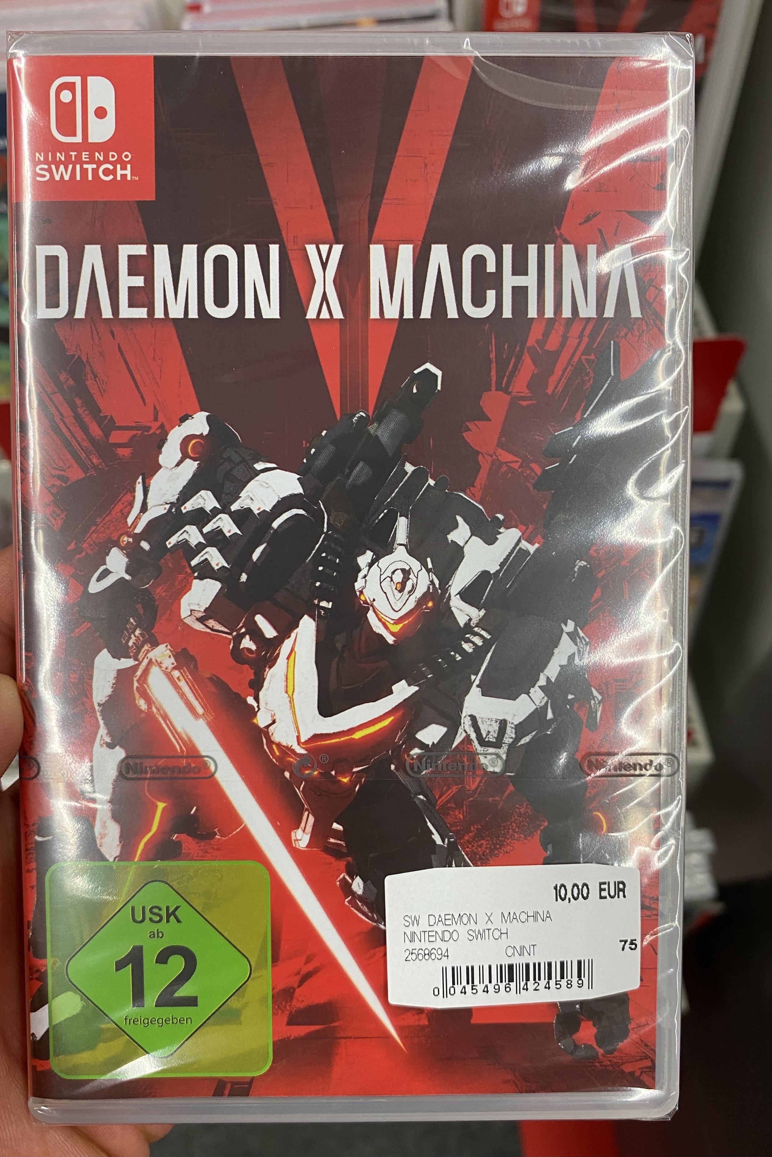 [Media Markt lokal] Daemon X Machina Nintendo Switch Lokal Bochum Ruhrpark