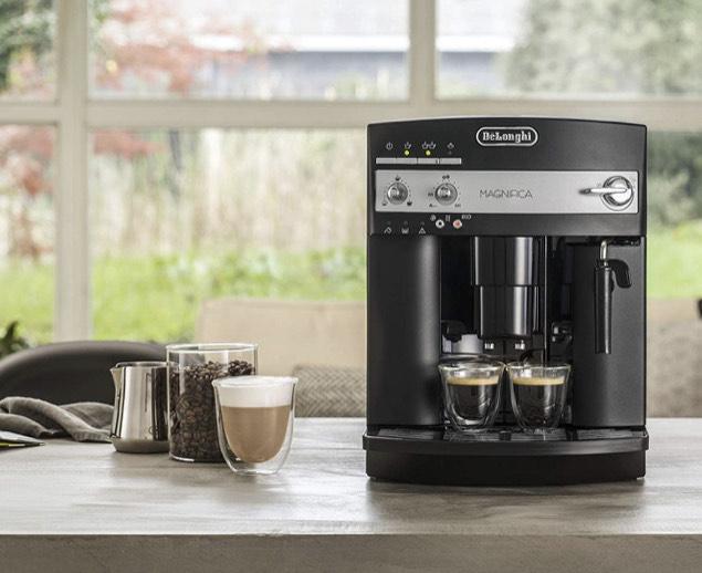 (Vorführgerät) De'Longhi B ESAM 3000 Kaffeevollautomat, Edelstahl rostfrei, 1.8 liter, schwarz