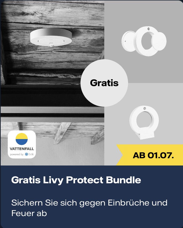 [Vattenfall-Kunden] Livy Protect kostenlos