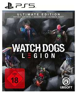 Watch Dogs: Legion Ultimate Edition (PS4 & PS5 & Xbox One/Series X) für 26,99€ (Saturn Abholung)