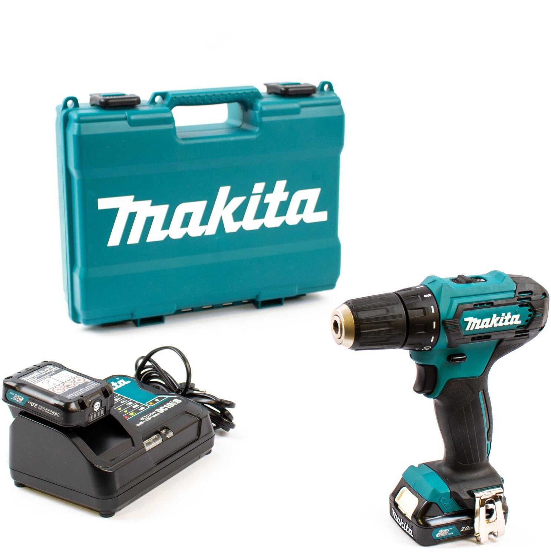 Makita DF333DSAE Akku-Bohrschrauber mit 2 Akkus und Koffer 12V / 2,0Ah für 96€ [Contorion]