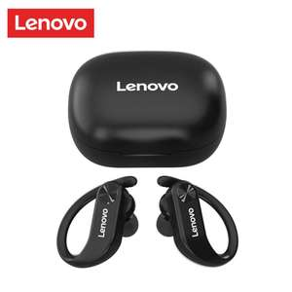 Lenovo LP7 TWS In-Ears mit Ohrbügel (Bluetooth 5.0, 8/24h Akku, Ladecase mit USB-C, IPX5)
