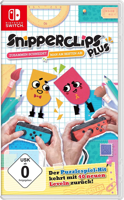 Nintendo Switch - SnipperClips Plus (lokal Saturn - bundesweit)