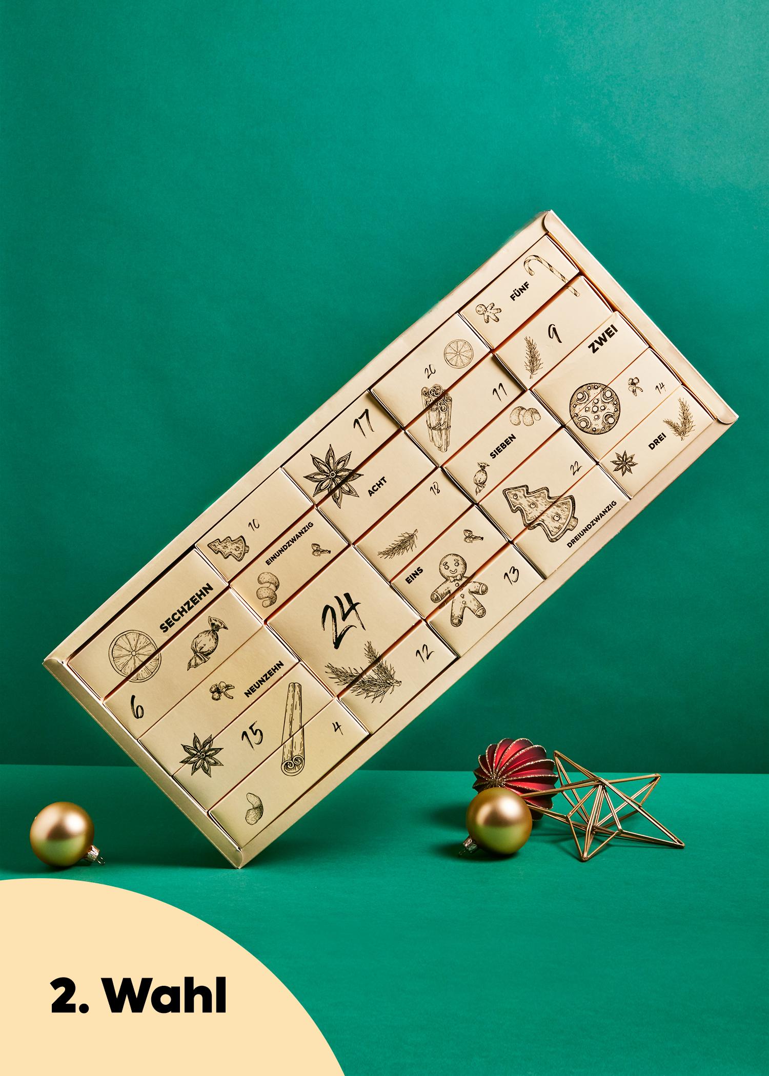 KoRo Adventskalender 2020 Vegane Weihnachtszeit 2. Wahl