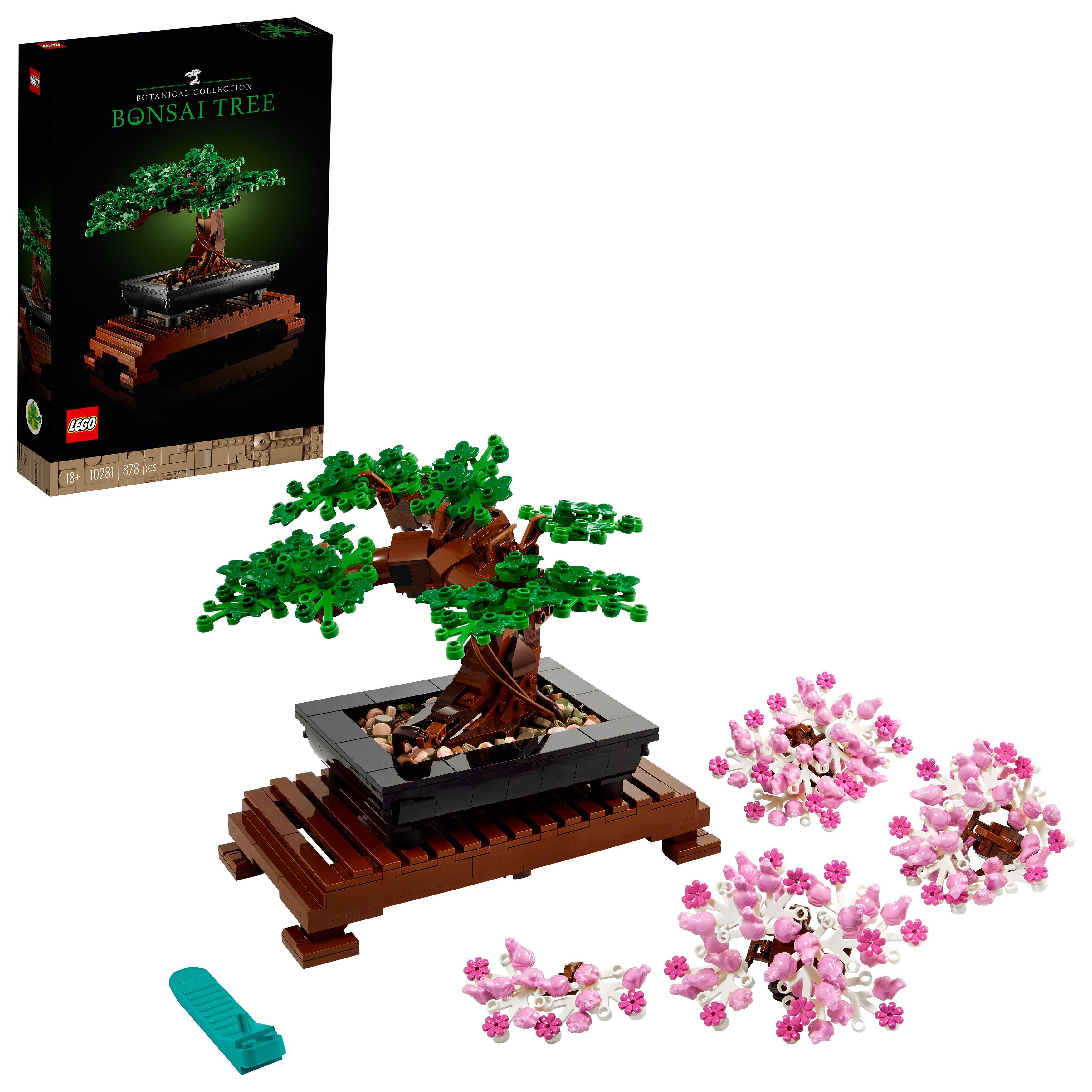 LEGO 10281 Creator Expert Bonsai Baum - versandkostenfrei und ohne Gutschein/Füllartikel