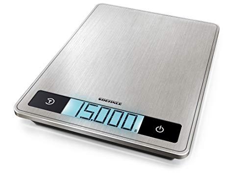 (prime) Soehnle Page Profi 200, digitale Küchenwaage, bis zu 15 kg (1-g-genau)